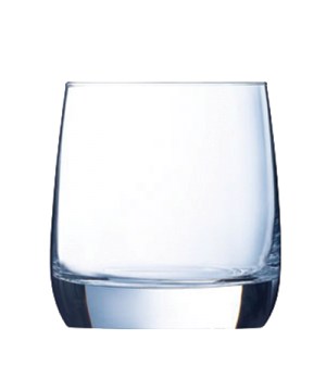 "Rocks Glass, 10-1/2 oz., glass, Chef & Sommelier, Sequence (H 3-1/2""; T 3"", M 3-"
