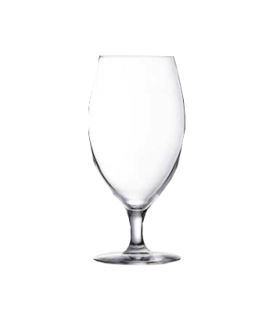 "Beverage Glass, 15-3/4 oz., sheer rim, glass, Arcoroc, Malea (H 6-7/8"" T 2-5/8"""