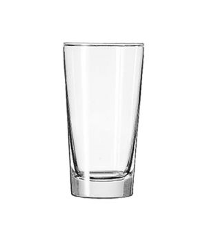 "Hi-Ball Glass, 9 oz., Safedge® Rim guarantee, heavy base, (H 5""; T 2-3/4""; B 2"";"