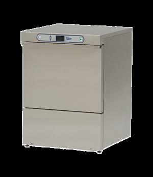 Dishwasher, undercounter, low temp, front loading door type, single rack, (33) r