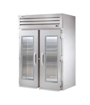 SPEC SERIES® Roll-in Refrigerator, two-section, stainless steel front, aluminum