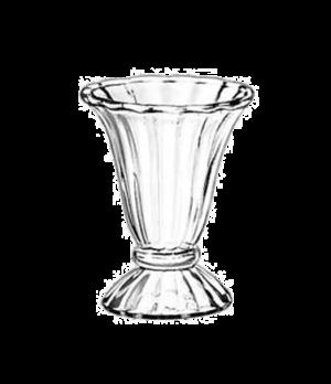 """Tulip Sundae Dish, 6-1/2 oz., glass, (H 4-7/8""""; T 4""""; B 3""""; D 4"""")"""