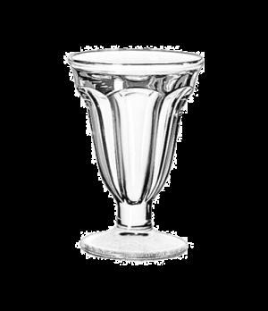 """Sundae Dish, 6-1/4 oz., glass, (H 5-3/4""""; T 4""""; B 3-1/8""""; D 4"""")"""