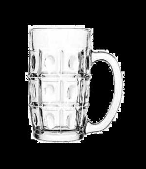 """Vienna Stein, 11-1/2 oz., glass, (H 5-1/4""""; T 2-7/8""""; B 2-3/8""""; D 4-1/2"""")"""