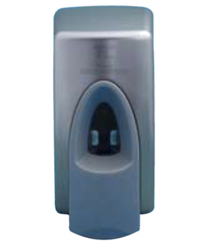 TC Hand Sanitizer Dispenser, 400ml, spray, wall-mounted, metallic (sold in case