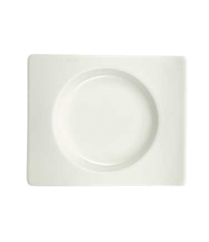 "A.D. Saucer/Bread & Butter Plate, 5-7/8"" x 5-1/8"", premium porcelain, New Wave"