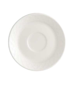"""Saucer, 4-3/4"""", premium porcelain, Bella"""