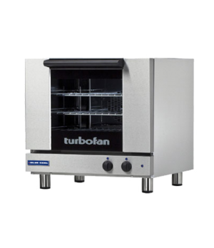 "Turbofan Convection Oven, electric, countertop, compact 24"" width, (3) 1/2 size"