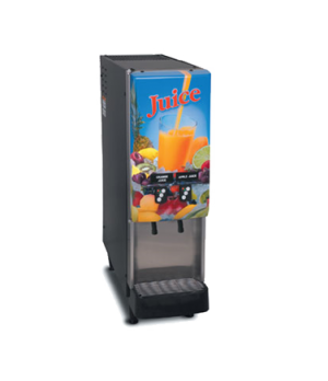 37900.0016 JDF-2S Silver Series® 2-Flavor Cold Beverage System, (4) 5 oz. drinks