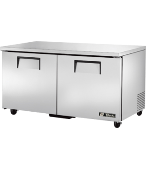 Undercounter Refrigerator, 33-38° F, (4) shelves, stainless steel top & sides, w
