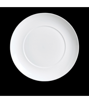 "Plate, 6-5/8"" dia., round, porcelain, Duo, Rene Ozorio (USA stock item) (minimum"