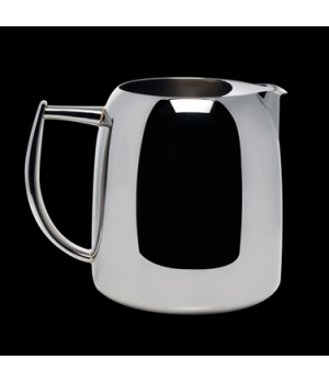Water Jug, 61 oz., with ice guard, stainless steel, La Tavola, Café and Club Hol