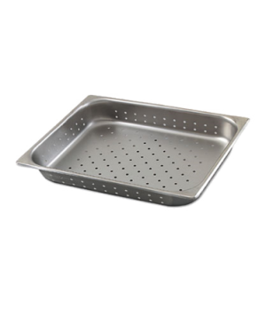 "Stack-A-Wayâ""¢ Steam Table Pan, 1/2 size, perforated, 10.6 qt., 12-3/4""L x 10-3/"