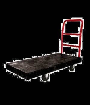 "Platform Truck, heavy duty, 48""W x 24""D, high density polyethylene platform, mol"