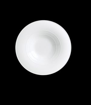 """Salad/Pasta Plate/Bowl, 12"""" dia. (5-1/2"""" deep well), round, porcelain, Aura, Ren"""
