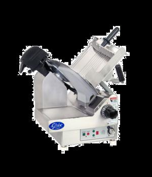 "Globe Premium Slicer, automatic, 9-speed, 20 to 60 strokes per minute, 13"" diame"