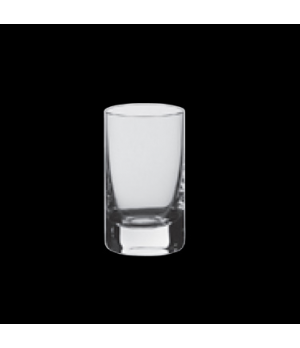 "Shot Glass, 1-3/4 oz., 1-1/2"" x 4""H, Rona 5 Star, Stellar (USA stock item) (mini"