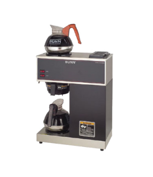 33200.0000 VPR BLACK Pourover Coffee Brewer, pourover type, brews 3.8 gallons pe