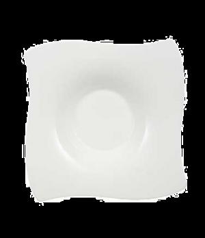 "Rim Soup Plate, 9-7/8"" x 9-7/8"", 10-1/4 oz., deep, premium bone porcelain, New W"