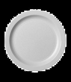 "Camwear® Plate, narrow rim, 9"", lightweight polycarbonate, non-porous surface, s"
