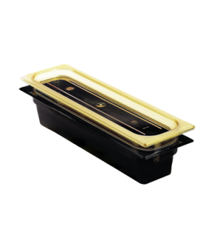 "H-Pan™, 1/2 size long, 2-1/2"" deep, hi-temp plastic, polysulfone, non-stick surf"