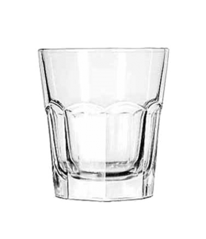 "Double Rocks Glass, 13 oz., DuraTuff®, GIBRALTAR®, (H 4-1/8""; T 3-3/4""; B 2-3/4"""