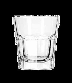 "Double Rocks Glass, 13 oz., DuraTuff®, GIBRALTAR®, (H 4-1/8""; T 3-3/4""; B 2-3/4"""