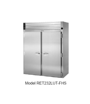 Spec-Line Even-Thaw Refrigerator, Roll-in, Two-Section, self-contained refrigera