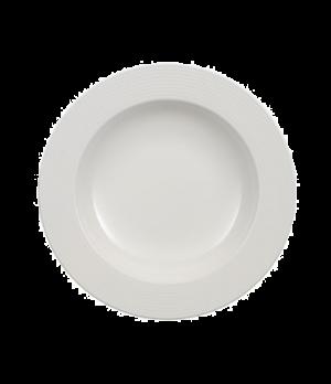 "Rim Soup Plate, 11-1/2"", deep, premium porcelain, Perimeter"