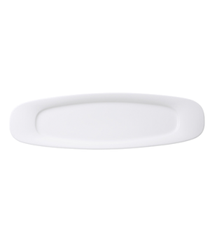 "Platter, 19-1/2"" x 6"", oval, premium porcelain, Affinity"