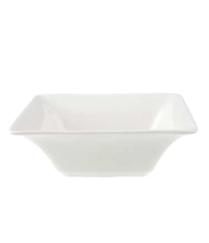 "Bowl, 6-1/4"" x 6-1/4"", 17 oz., deep, premium porcelain, Pi Carre"