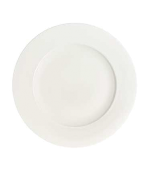 """Buffet Plate, 11-3/4"""", premium bone porcelain, Stella Hotel"""