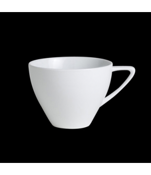 "Cappuccino Cup, 8-3/4 oz., 3-7/8""W x 3""H,  with handle, porcelain, Crucial Detai"
