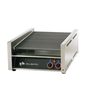 Star Grill-Max® Hot Dog Grill, roller-type, chrome-plated rollers, capacity 45 h