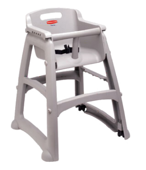 Sturdy Chair™ Youth Seat without Wheels, safety harness with release mechanism,