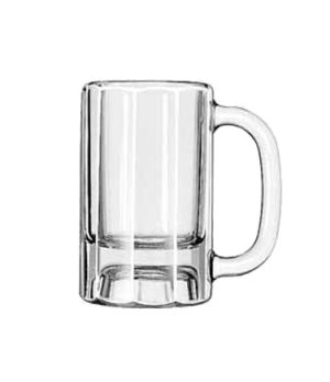 """Mug, 10 oz., paneled, (H 5-3/8""""; T 3-1/4""""; B 3-1/4""""; D 4-7/8"""")"""