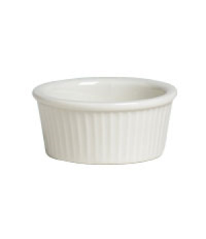 Ramekin, 4 oz., fluted, Anfora, American Basics (USA stock item) (minimum = case