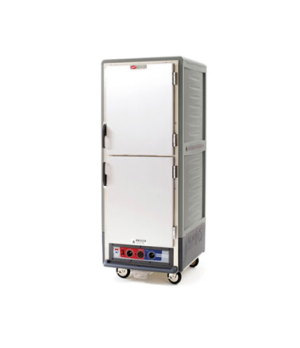 C53, Moisture Module, Gray, Full height, dutch solid doors, Universal slides