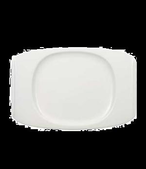 "Plate, 12-5/8"" x 8-1/2"", premium porcelain, Urban Nature"