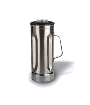 Blender Container, with lid, 1/2 gallon, stainless steel, for SEB146, MMB142, HG