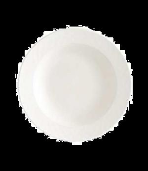 """Rim Soup Plate, 9"""", 15 oz., deep, premium porcelain, Bella"""