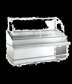 "Seafood Display Cabinet, 78""L, two door, Intela-Traul® microprocessor controls,"