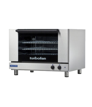 "Turbofan Convection Oven, electric, countertop, compact 31-7/8"" width, (3) full"