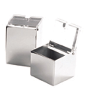 "Cube Container, 1-1/2"" x 2-1/2"", tall, for condiment 9 piece set, WNK Accessorie"