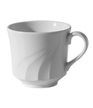 Elegant Tea Cup, 7 oz. (0.23 liter), tall, scratch resistant, oven & microwave s