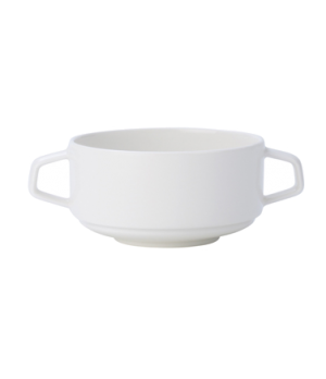 "Soup Cup, 11-1/2 oz., 4-1/4"", stackable, premium porcelain, Affinity"