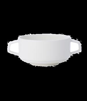 """Soup Cup, 11-1/2 oz., 4-1/4"""", stackable, premium porcelain, Affinity"""