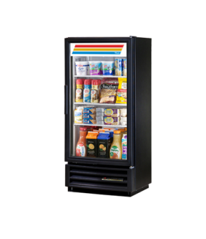 Refrigerated Merchandiser, one-section, (3) shelves, laminated white vinyl exter