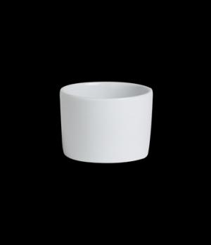 "Ramekin, 2 oz., 2-1/4"" dia. x 1-5/8""H, round, deep, Varick, Café Porcelain (USA"