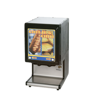 Hot Food Dispenser, counter model, high performance, two products with portion c